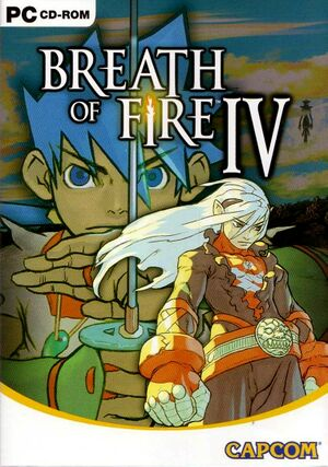 Breath of Fire IV cover