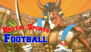 Brutal Sports - Football cover