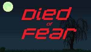 Died of Fear cover