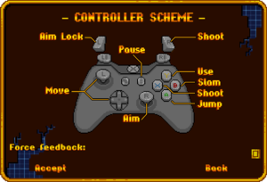 XInput Controller bindings.