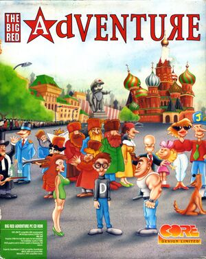 The Big Red Adventure cover