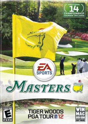 Tiger Woods PGA Tour 12 cover
