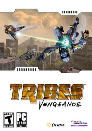 Tribes: Vengeance cover