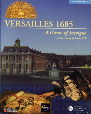 Versailles 1685 cover