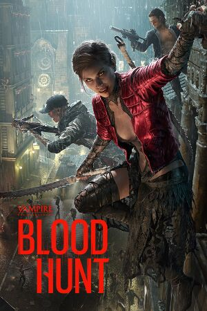 Vampire The Masquerade: Bloodhunt cover