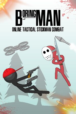 Boring Man - Online Tactical Stickman Combat cover