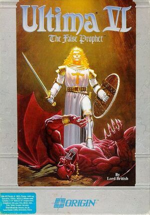 Ultima VI: The False Prophet cover