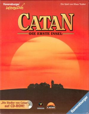 Catan: Die Erste Insel cover