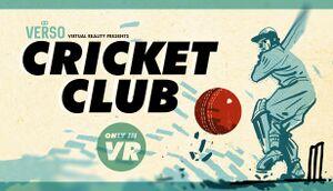 Cricket Club cover