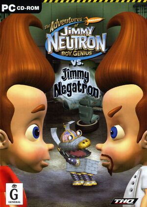 Jimmy Neutron vs. Jimmy Negatron cover