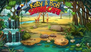 Katy and Bob: Safari Cafe cover