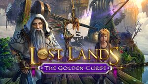 Lost Lands: The Golden Curse cover
