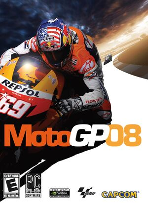 MotoGP 08 cover