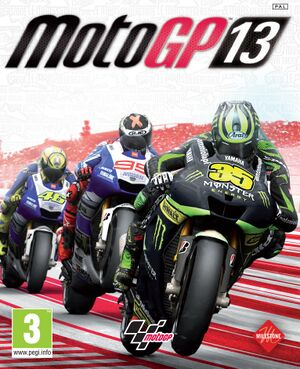 MotoGP 13 cover
