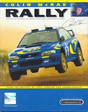 Colin McRae Rally cover