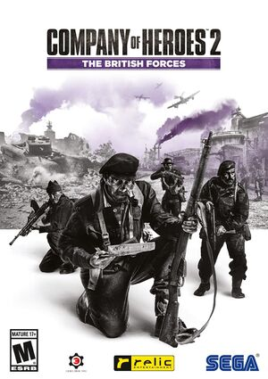 Company of Heroes 2 - The British Forces cover