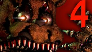 Five Nights at Freddy's 4 cover