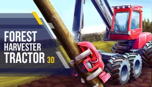 Forest Harvester Tractor 3D cover
