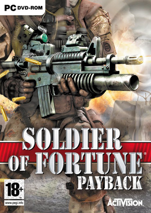 Soldier of Fortune: Payback cover