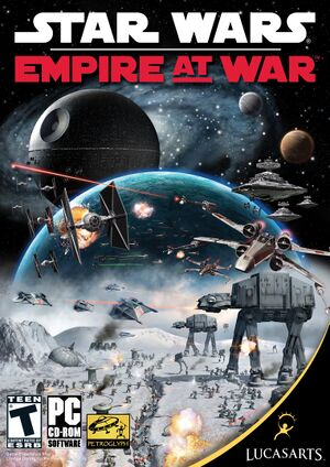 Star Wars: Empire at War cover