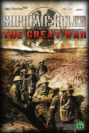 Supreme Ruler The Great War cover