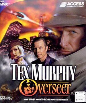 Tex Murphy: Overseer cover