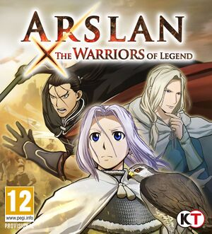 Arslan: The Warriors of Legend cover