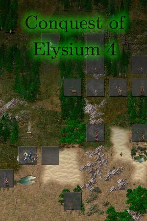 Conquest of Elysium 4 cover