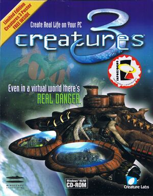 Creatures 3 cover