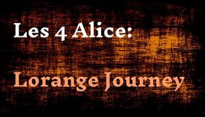 Les 4 Alice: Lorange Journey cover
