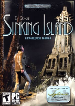 Sinking Island cover