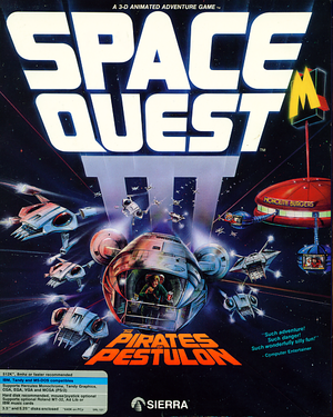 Space Quest III: The Pirates of Pestulon cover