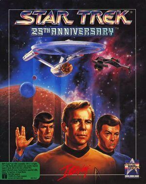 Star Trek: 25th Anniversary cover