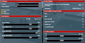 Technical options