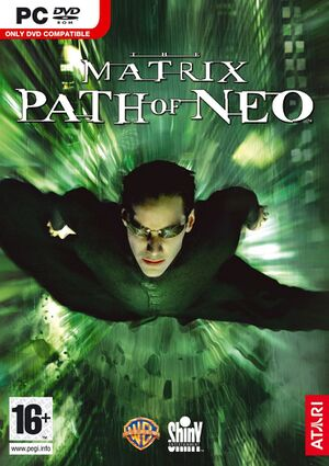 The Matrix: Path of Neo cover