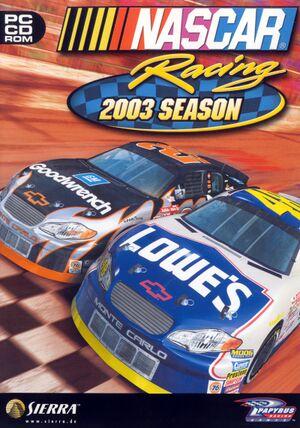NASCAR Racing 2003 Season cover