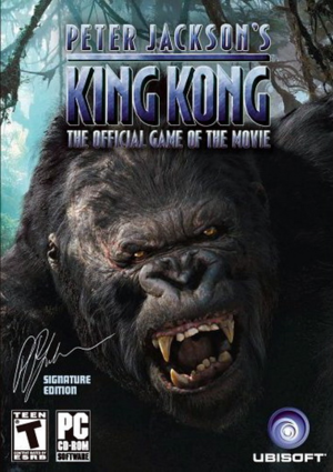 Peter Jackson's King Kong Gamer's Edition cover