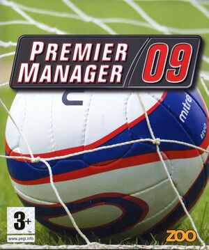 Premier Manager 09 cover