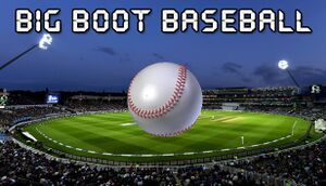 Big Boot Baseball cover