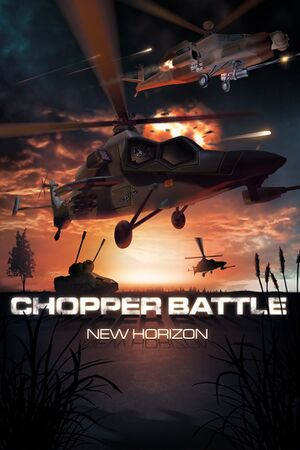 Chopper Battle New Horizon cover