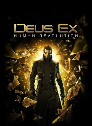 Deus Ex: Human Revolution cover