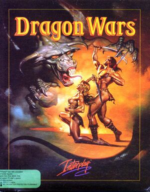 Dragon Wars cover