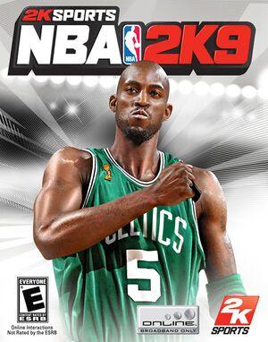NBA 2K9 cover