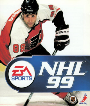 NHL 99 cover