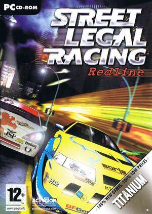 Street Legal Racing: Redline cover