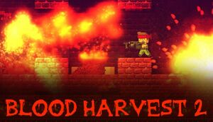 Blood Harvest 2 cover