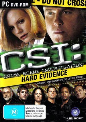 CSI: Hard Evidence cover