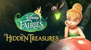 Disney Fairies Hidden Treasures cover