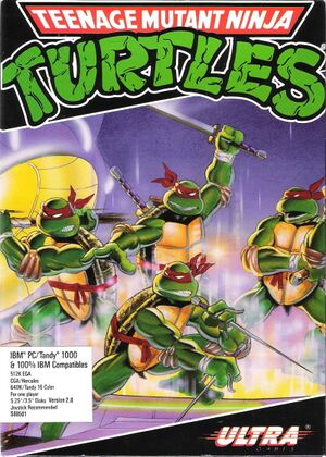 Teenage Mutant Ninja Turtles cover