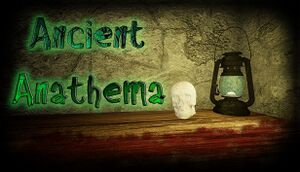 Ancient Anathema cover